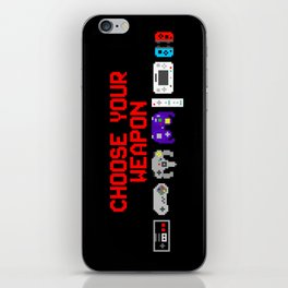 Don't Lose Control iPhone Skin