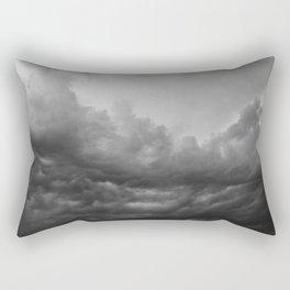 Storm arriving Rectangular Pillow
