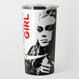 Fight Like A Girl (Lexa) Travel Mug