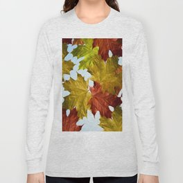 Autumn Leaf Brite Long Sleeve T-shirt