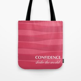 Red for Confidence Tote Bag