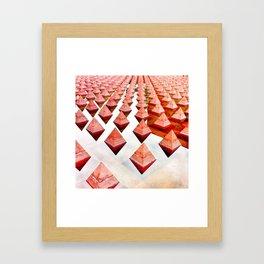 Pyramidal Framed Art Print