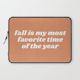 fall is my most favorite Laptop Sleeve