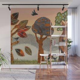 Birds Refuge Wall Mural