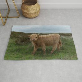 Baby Highland Cow Rug