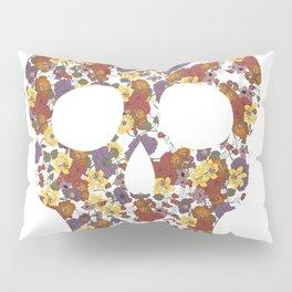 Flower Skull Pillow Sham