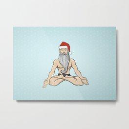 Yogin Santa Metal Print