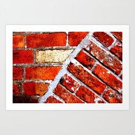 Tectonic Bricks Art Print