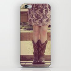 Thank God I Was Born a Country Girl iPhone & iPod Skin