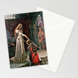 12,000pixel-500dpi - Edmund Blair Leighton - Accolade - Edmund Blair Leighton Stationery Cards