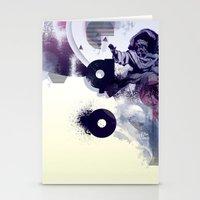 freud Stationery Cards featuring freud' ego by ferzan aktas