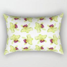 Cattleya Orchids Rectangular Pillow