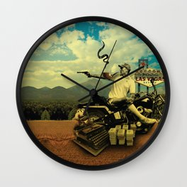 Hunter S Wall Clock