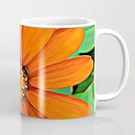 Orange Guardian Flower Coffee Mug