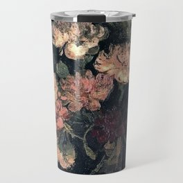 Vincent van Gogh Vase With Carnations 1886 Travel Mug