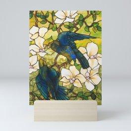 Louis Comfort Tiffany - Decorative stained glass 3. Mini Art Print