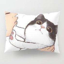 Don't kiss! Pillow Sham