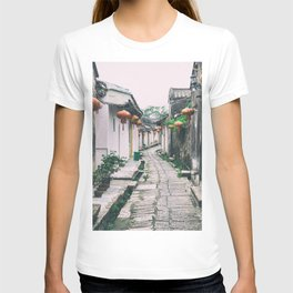 chinese ancient village T-shirt