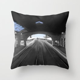 Light At End of the Tunnel Throw Pillow