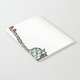 Blooming Echeveria Notebook