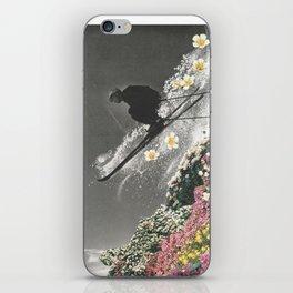 Spring Skiing iPhone Skin
