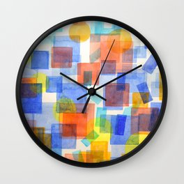 Different Things Fall Differently Wall Clock