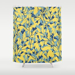 HEARTS PLANTATION [yellow] Shower Curtain