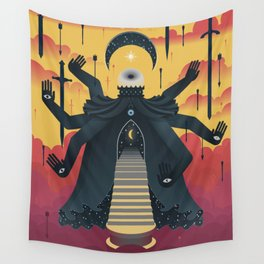 Guardian of the Night Wall Tapestry