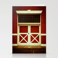 the xx Stationery Cards featuring XX by Rick Staggs