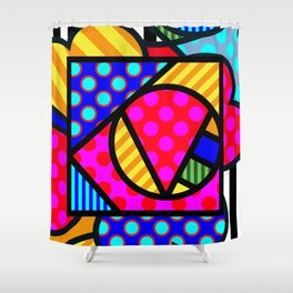 Lucky Love SQuare Shower Curtain
