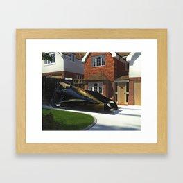Black Renault Framed Art Print
