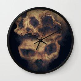 Mr Three Face Wall Clock