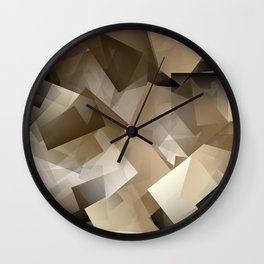 Cubism Abstract 185 Wall Clock