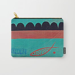 In the clouds part one, digitized Carry-All Pouch