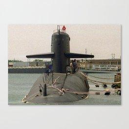 USS SIMON BOLIVAR (SSBN-641) Canvas Print