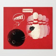 Strike! Canvas Print