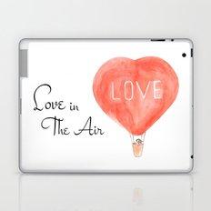 LOVE in the air Laptop & iPad Skin