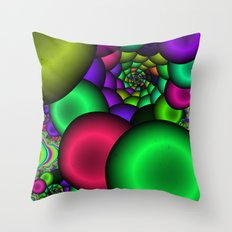 Into Bliss Throw Pillow