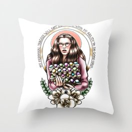 Annelle's Creed Throw Pillow