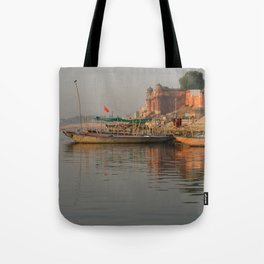 Reflections in the Ganges Tote Bag