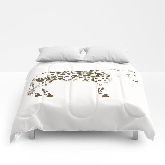 Appaloosa Spots Comforters