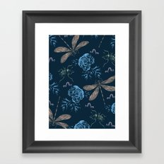 Insects Pattern #1 Framed Art Print