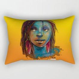 Afro Brazilian Rectangular Pillow