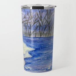 Winter's Eve Travel Mug