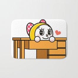 dorami cute2 Bath Mat