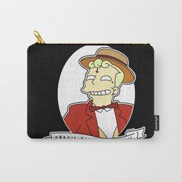 Lyle Lanley Alternative Simpsons Goth Punk Pop Art Carry-All Pouch