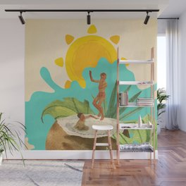 Coconut Milk Party Wall Mural