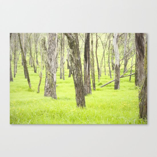 Neon Green  Canvas Print
