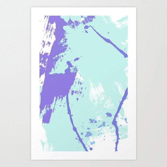 splatters Art Print