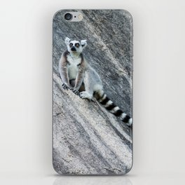 Bright eyes in a black and white world iPhone Skin